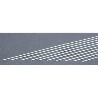 Evergreen Scale Models .010 Dimensional Plastic Strips - White - Evergreen