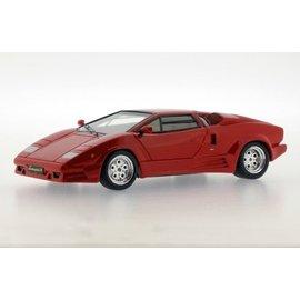PremiumX Models 1989 Lamborghini Countach 25th Anniversary Red Premium X Models 1:43 SCale Diecast Model Car