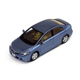 PremiumX Models 2006 Honda Civic Blue PremiumX Models 1:43 Scale Diecast Model Car