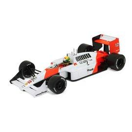 PremiumX Models 1988 McLaren Honda MP4/4 Aryton Senna Japan GP 1:18 Scale Model Car