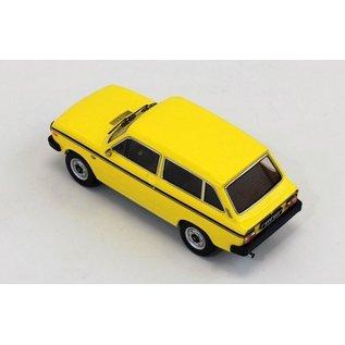 PremiumX Models 1975 Volvo 66 Yellow Premium X Models 1:43 Scale Diecast Model Car