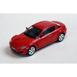 PremiumX Models 2003 Mazda RX-8 Orange Premium X Models 1:43 Scale Diecast Model Car