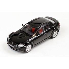 PremiumX Models 2003 Mazda RX-8 Black Premium X Models 1:43 Scale Diecast Model Car