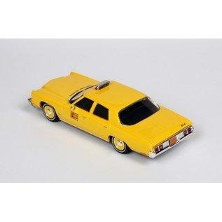 PremiumX Models 1973 Chevrolet Bel Air New York Taxi Premium X Models 1:43 Scale Diecast Model Car