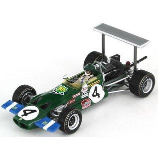 Spark Models Spark Lotus 59 Winner Pau Grand Prix 1969 Jochen Rindt 1:43 Scale Diecast Model Car