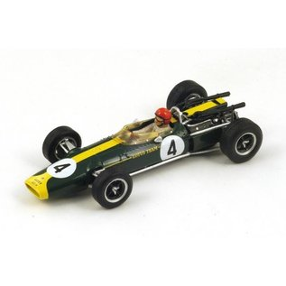 Spark Models Team Lotus 43 BRM #4 French GP 1966 Peter Arundell Spark 1:43 Diecast Model Car