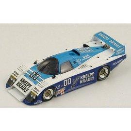 Spark Models March 83G #00 Winner Daytona 24 Hours 1984 Spark 1:43