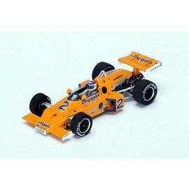 Spark Models Spark Models 1974 Indy 500 Winner #3 McLaren M16C Johnny Rutherford 1:43 Scale Diecast Model Car