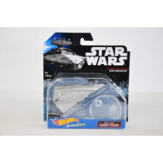 Hot Wheels Mattel Hot Wheels Star Wars Star Destroyer With Flight Stand Die Cast Model Replica