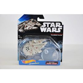 Hot Wheels Mattel Hot Wheels Star Wars Millennium Falcon With Flight Stand Die Cast Model Replica