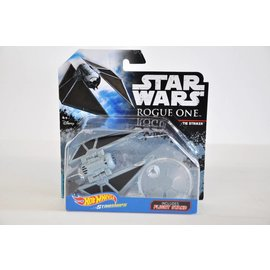Hot Wheels Mattel Hot Wheels Star Wars Rogue One Tie Striker With Flight Stand Die Cast Model Replica