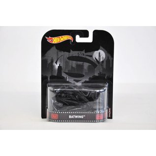 Hot Wheels Hot Wheels Retro Entertainment Batwing Batman 1:64 Scale Diecast Model