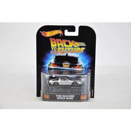 Hot Wheels Hot Wheels Retro Entertainment Time Machine Hover Mode Back To The Future 1:64 Scale Diecast Model Car