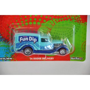 Hot Wheels Hot Wheels '34 Dodge Delivery Fun Dip Candy Pop Culture Series 1:64 Scale Diecast Model Car