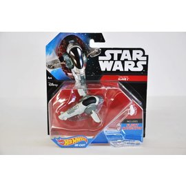 Hot Wheels Hot Wheels Star Wars Starship Series Boba Fett's Slave 1 Includes Flight Navigator
