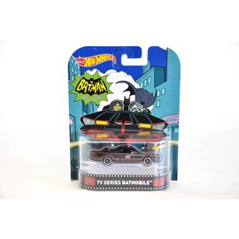 Hot Wheels Hot Wheels TV Series Batmobile Retro Ent. 1:64 Scale Diecast Model Car