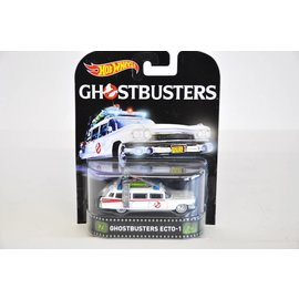 Hot Wheels Hot Wheels Ghostbusters Ecto-1 Retro Entertainment Mattel 1:64 Scale Diecast Model Car