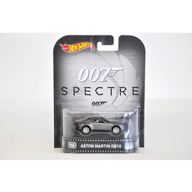 Hot Wheels Hot Wheels Aston Martin DB10 James Bond Spectre Retro Entertainment 1:64 Scale Diecast Model Car