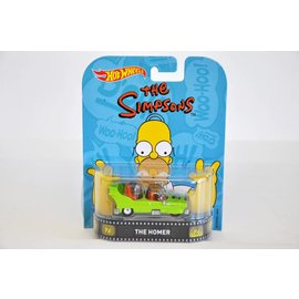 Hot Wheels Hot Wheels The Homer Simpsons Retro Entertainment 1:64 Scale Diecast Model Car