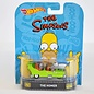 Hot Wheels Hot Wheels The Homer Simpsons Retro Entertainment 1:64 Scale Diecast Model Car