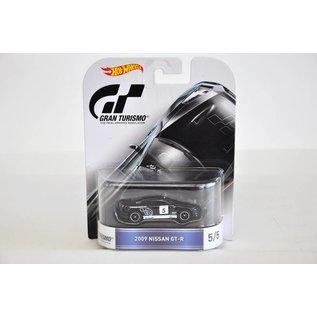 Hot Wheels Hot Wheels Retro Entertainment 2009 Nissan GT-R Black Gran Turismo 1:64 Scale Diecast Model Car