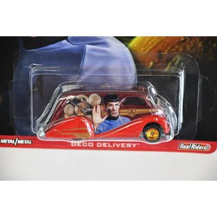 Hot Wheels Hot Wheels Star Trek Deco Delivery Pop Culture 1:64 Scale Diecast Model Car