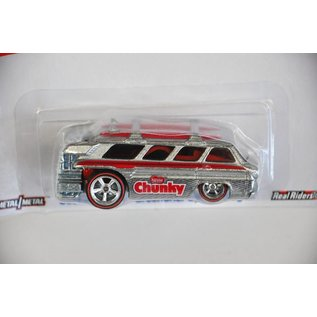 Hot Wheels Hot Wheels Custom Chevy Greenbriar Sports Wagon Chunky Pop Culture Mattel 1:64 Diecast Model Car