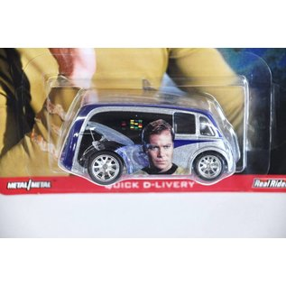 Hot Wheels Hot Wheels Star Trek Quick D-Livery Pop Culture 1:64 Scale Diecast Model Car