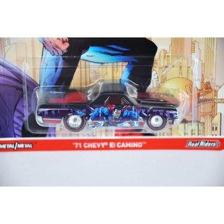 Hot Wheels Hot Wheels Pop Culture DC Comics Batman Vs. Superman '71 Chevy El Camino 1:64 Scale Diecast Model Car
