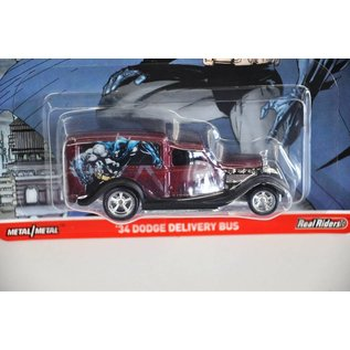 Hot Wheels Hot Wheels Pop Cultures DC Comics batman Vs. Superman '34 Dodge Delivery Bus 1:64 Scale Diecast Model Car