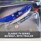 Hot Wheels Hot Wheels Batman Classic TV Series Batboat With Trailer 1:50 Scale Diecast Model Car