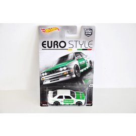 Hot Wheels Hot Wheels Car Culture Euro Style 1992 BMW M3 White Mattel 1:64 Scale Diecast Model Car