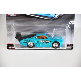 Hot Wheels Hot Wheels Volkswagen Karmann Ghia Turquoise Car Culture Track Days Mattel 1:64 Scale Diecast Model Car