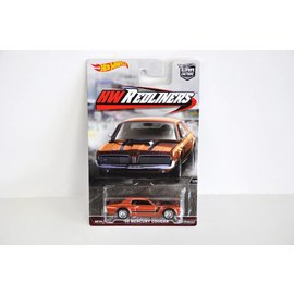 Hot Wheels Hot Wheels Car Culture Redliners 1968 Mercury Cougar Copper 1:64 Scale Diecast Model Car