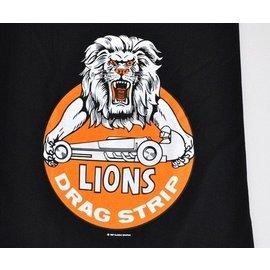 Classic Graphix Lions Drag Strip T-Shirt - Black