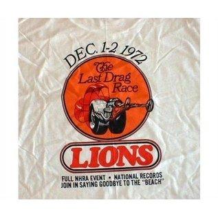 Classic Graphix Lions Last Drag Race T-Shirt - White