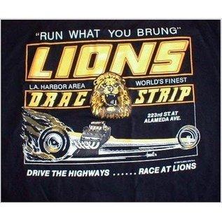 Classic Graphix Lions Run What you Brung T-Shirt - Black