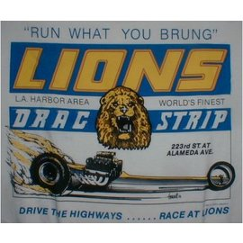Classic Graphix Lions Run What you Brung T-Shirt - White