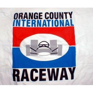 Classic Graphix OCIR - Orange County Intl Raceway T-Shirt - White