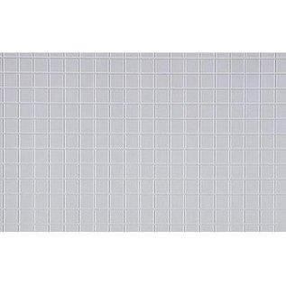 Evergreen Scale Models Square Tile - White Plastic - Evergreen