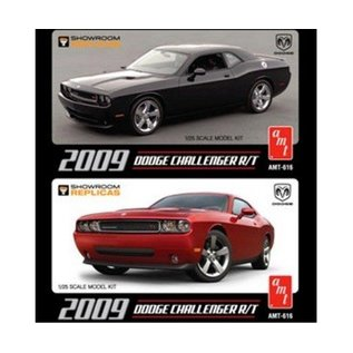 AMT 2009 Dodge Challenger R-T - AMT - Plastic Model Kit