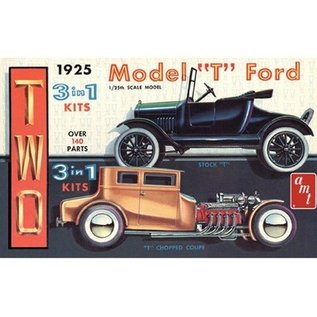 AMT 1925 Ford T Original Recreation - 1:25 Scale Plastic Model Kit