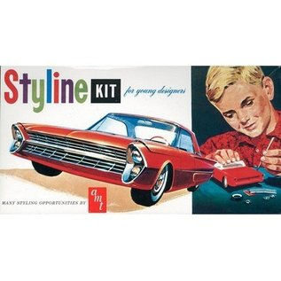 AMT 1961 Ford Styline - AMT - 1:25 Plastic Kit