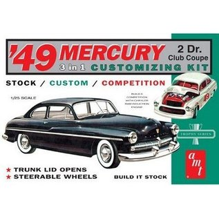 AMT 1949 Mercury Club Coupe AMT 1:25 Plastic Kit