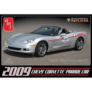 AMT 2009 Chevy Corvette Convertible Parade Car AMT 1:25 Plastic