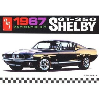AMT 1967 Shelby GT350 Mustang Molded In Black AMT 1:25 Plastic