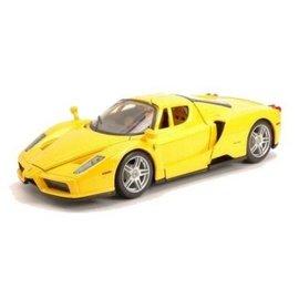 Bburago Enzo Ferrari Yellow Bburago 1:24 Diecast Car