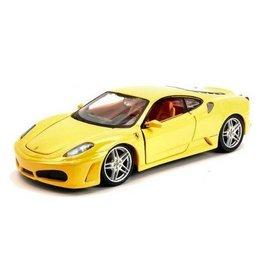 Bburago Ferrari F430 Yellow Bburago 1:24 Diecast Car
