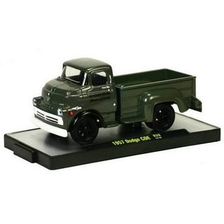 M2 Machines 1957 Dodge COE Olive Drab Auto Trucks M2 1:64
