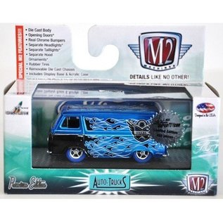 M2 Machines 1965 Ford Econoline Van Blue 2015 Super Toy Con M2 1:64 Diecast
